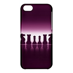 Chess Pieces Apple Iphone 5c Hardshell Case by Valentinaart