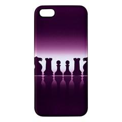Chess Pieces Iphone 5s/ Se Premium Hardshell Case by Valentinaart