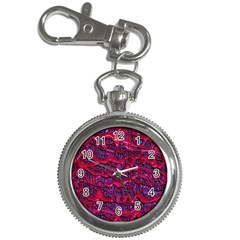 Plastic Mattress Background Key Chain Watches by Nexatart