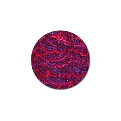 Plastic Mattress Background Golf Ball Marker (10 Pack) by Nexatart