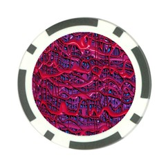 Plastic Mattress Background Poker Chip Card Guard (10 Pack)