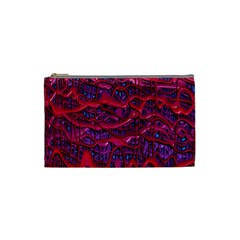 Plastic Mattress Background Cosmetic Bag (small)  by Nexatart