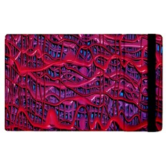 Plastic Mattress Background Apple Ipad 2 Flip Case by Nexatart