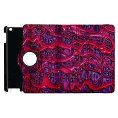 Plastic Mattress Background Apple Ipad 3/4 Flip 360 Case by Nexatart