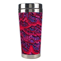 Plastic Mattress Background Stainless Steel Travel Tumblers by Nexatart