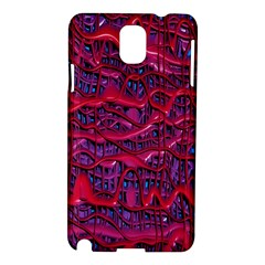 Plastic Mattress Background Samsung Galaxy Note 3 N9005 Hardshell Case