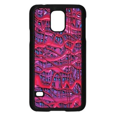 Plastic Mattress Background Samsung Galaxy S5 Case (black)