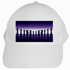 Chess Pieces White Cap by Valentinaart