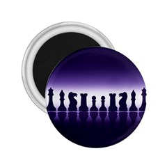 Chess Pieces 2 25  Magnets by Valentinaart