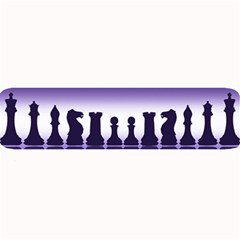 Chess Pieces Large Bar Mats by Valentinaart
