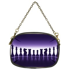 Chess Pieces Chain Purses (one Side)  by Valentinaart