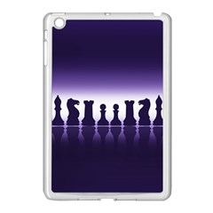Chess Pieces Apple Ipad Mini Case (white) by Valentinaart
