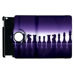 Chess Pieces Apple Ipad 2 Flip 360 Case by Valentinaart