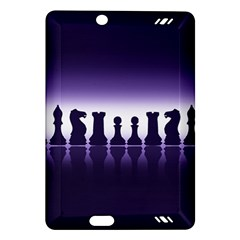 Chess Pieces Amazon Kindle Fire Hd (2013) Hardshell Case by Valentinaart