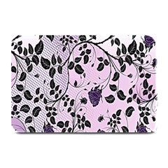 Floral Pattern Background Plate Mats by Nexatart