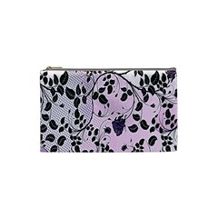 Floral Pattern Background Cosmetic Bag (small)  by Nexatart