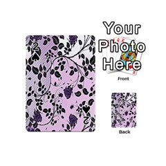 Floral Pattern Background Playing Cards 54 (mini)