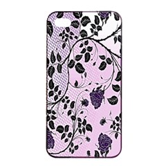 Floral Pattern Background Apple Iphone 4/4s Seamless Case (black) by Nexatart