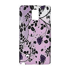 Floral Pattern Background Samsung Galaxy Note 4 Hardshell Case by Nexatart