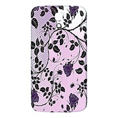Floral Pattern Background Samsung Galaxy Mega I9200 Hardshell Back Case by Nexatart