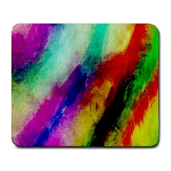 Colorful Abstract Paint Splats Background Large Mousepads by Nexatart