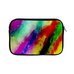 Colorful Abstract Paint Splats Background Apple Ipad Mini Zipper Cases by Nexatart