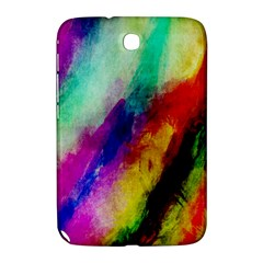 Colorful Abstract Paint Splats Background Samsung Galaxy Note 8 0 N5100 Hardshell Case