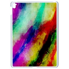 Colorful Abstract Paint Splats Background Apple Ipad Pro 9 7   White Seamless Case by Nexatart
