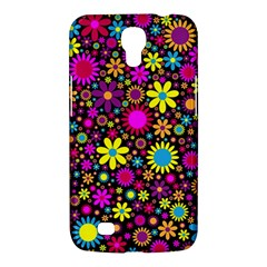 Bright And Busy Floral Wallpaper Background Samsung Galaxy Mega 6 3  I9200 Hardshell Case by Nexatart