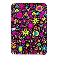 Bright And Busy Floral Wallpaper Background Samsung Galaxy Tab Pro 10 1 Hardshell Case