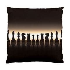 Chess Pieces Standard Cushion Case (two Sides) by Valentinaart