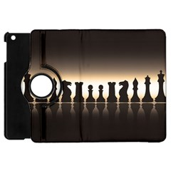 Chess Pieces Apple Ipad Mini Flip 360 Case by Valentinaart