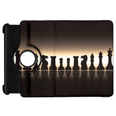 Chess Pieces Kindle Fire Hd 7  by Valentinaart