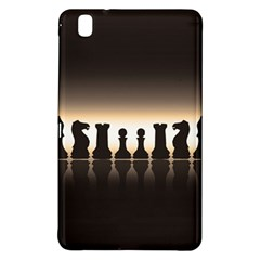 Chess Pieces Samsung Galaxy Tab Pro 8 4 Hardshell Case by Valentinaart