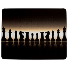 Chess Pieces Jigsaw Puzzle Photo Stand (rectangular) by Valentinaart