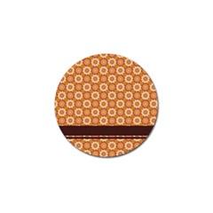 Floral Seamless Pattern Vector Golf Ball Marker (10 Pack) by Nexatart