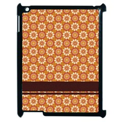 Floral Seamless Pattern Vector Apple Ipad 2 Case (black)