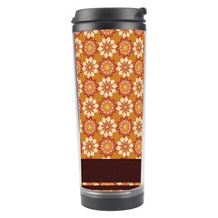Floral Seamless Pattern Vector Travel Tumbler by Nexatart
