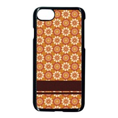 Floral Seamless Pattern Vector Apple Iphone 7 Seamless Case (black) by Nexatart