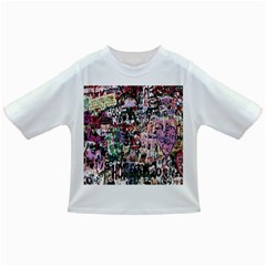 Graffiti Wall Pattern Background Infant/toddler T Shirts