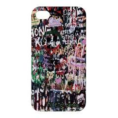 Graffiti Wall Pattern Background Apple Iphone 4/4s Premium Hardshell Case