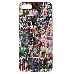 Graffiti Wall Pattern Background Apple Iphone 5 Hardshell Case With Stand by Nexatart