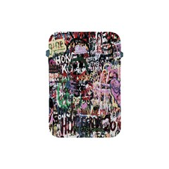 Graffiti Wall Pattern Background Apple Ipad Mini Protective Soft Cases by Nexatart