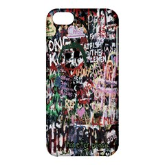 Graffiti Wall Pattern Background Apple Iphone 5c Hardshell Case