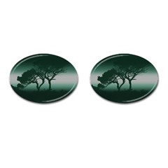 Sunset Cufflinks (oval)