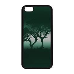 Sunset Apple Iphone 5c Seamless Case (black) by Valentinaart