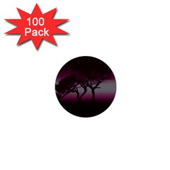 Sunset 1  Mini Buttons (100 Pack)  by Valentinaart