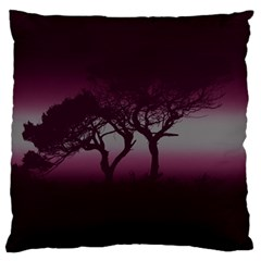 Sunset Large Cushion Case (two Sides) by Valentinaart