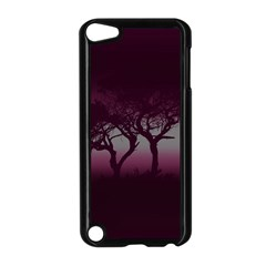 Sunset Apple Ipod Touch 5 Case (black) by Valentinaart