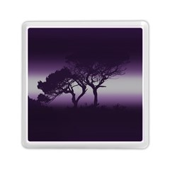 Sunset Memory Card Reader (square)  by Valentinaart